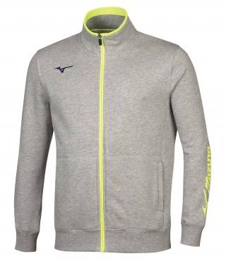 Толстовка Mizuno Sweat Fz Jacket