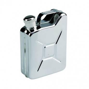 Фляга походная AceCamp S/S Flask Gas Can shape 5OZ