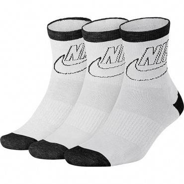 Носки Nike Sportswear Striped Low Crew Socks 3 Pairs (женские)