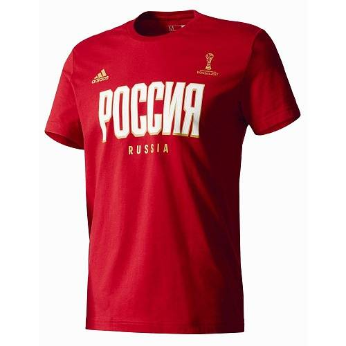 Футболка Adidas Russia Football Confederations Cup Graphic