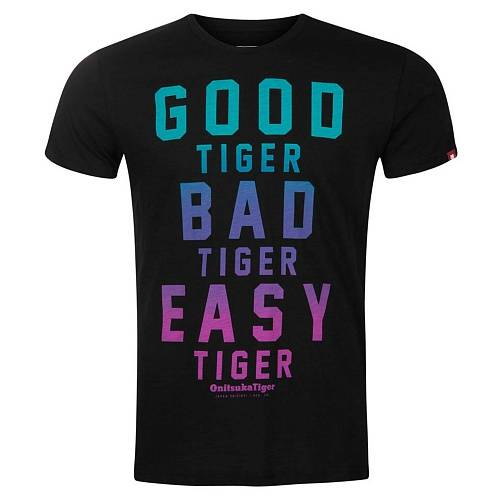 Футболка Onitsuka Tiger Fashion Good Bad Easy Tiger Tee