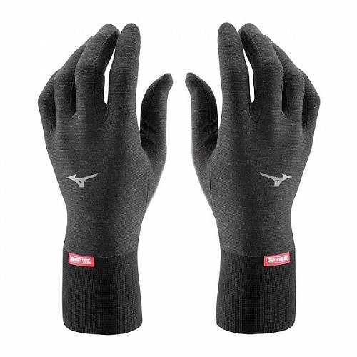 Перчатки беговые Mizuno Breath Thermo Light Weight Gloves