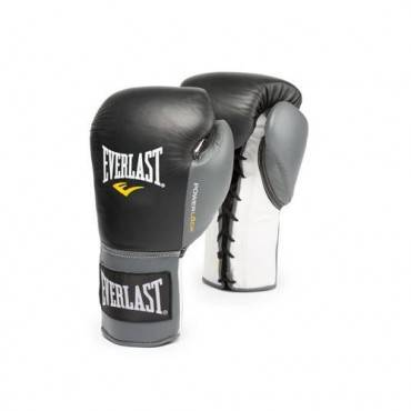 Перчатки боксерские Everlast Powerlock Hook Loop Training Gloves