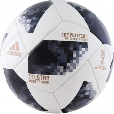 Мяч футбольный Adidas WC2018 Telstar Competition