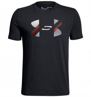 Футболка Under Armour Big Logo Sleeve Shirt (детская)