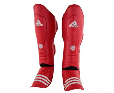Защита голени и стопы Adidas WAKO Super Pro Shin Instep Guards