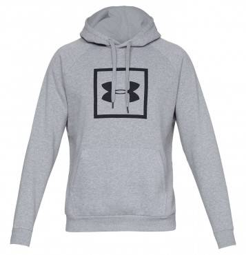 Толстовка Under Rival Fleece Logo Hoody