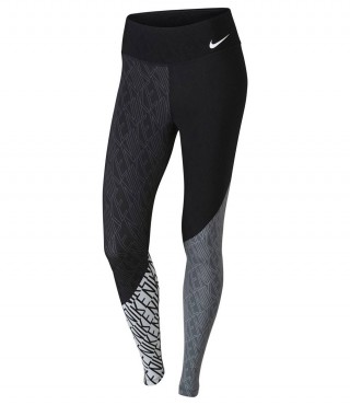 Тайтсы беговые Nike Power Legendary Printed Mid Rise Training Tights (женские)