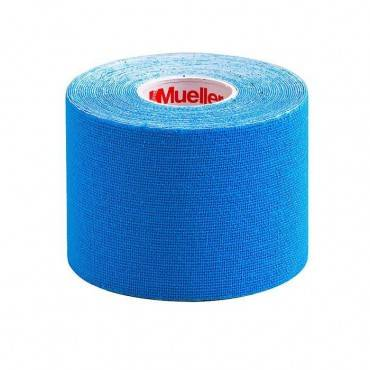 Кинезио тейп Mueller Kinesiology Tape Blue 5 х 5 (6 шт.)