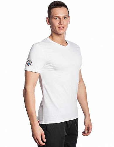 Футболка Mad Wave PRO Men T-shirt, синий цвет, S размер