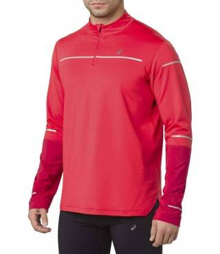 Рубашка беговая Asics Lite Show Winter Ls 1/2 Zip Top