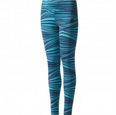 Тайтсы для фитнеса Adidas Youth Printed Training Tights (детские)