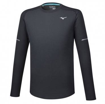 Рубашка беговая Mizuno Breath Thermo Mesh LS Tee
