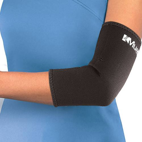 Бандаж на локоть Mueller Neoprene Elbow Sleeve черный - - 414