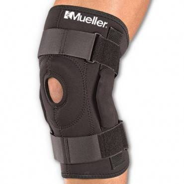 Бандаж на колено Mueller Hinged Wraparound Knee Brace