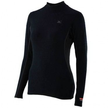 Терморубашка Mizuno Breath Thermo Midweight High Neck (женская)