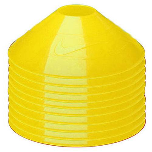 Фишки Nike 10 pack training cones желтый -