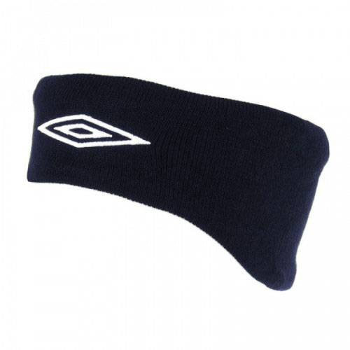 Повязка на голову Umbro Knitted headband 560009 темно-синий - -