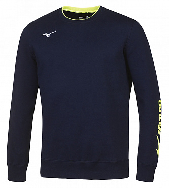 Толстовка Mizuno Sweat Crew