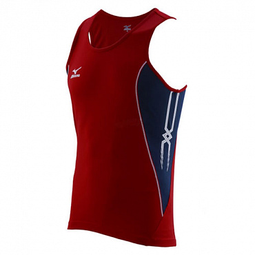 Майка беговая Mizuno Team Running Singlet